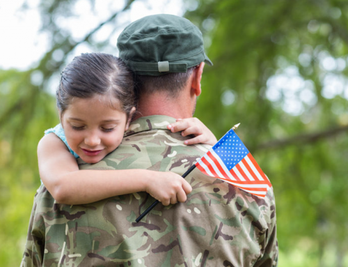 Looking into the Eyes of my Father: A Veterans' Day Story